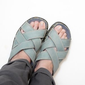 Dr Martens Vintage Chunky Slide Sandals